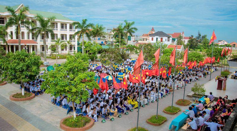 Lễ tri ân và trưởng thành học sinh khối 12 khóa 2015 – 2018