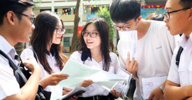 Danh sách phòng thi thử lần 1 năm học 2020-2021
